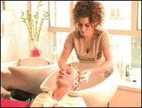 Повышение продаж средств по уходу за волосами в парикмахерском зале